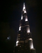 The world's tallest building, Dubai