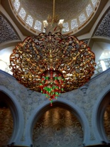The Swarovski crystal chandelier