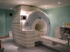 fMRI machine - a big magnet
