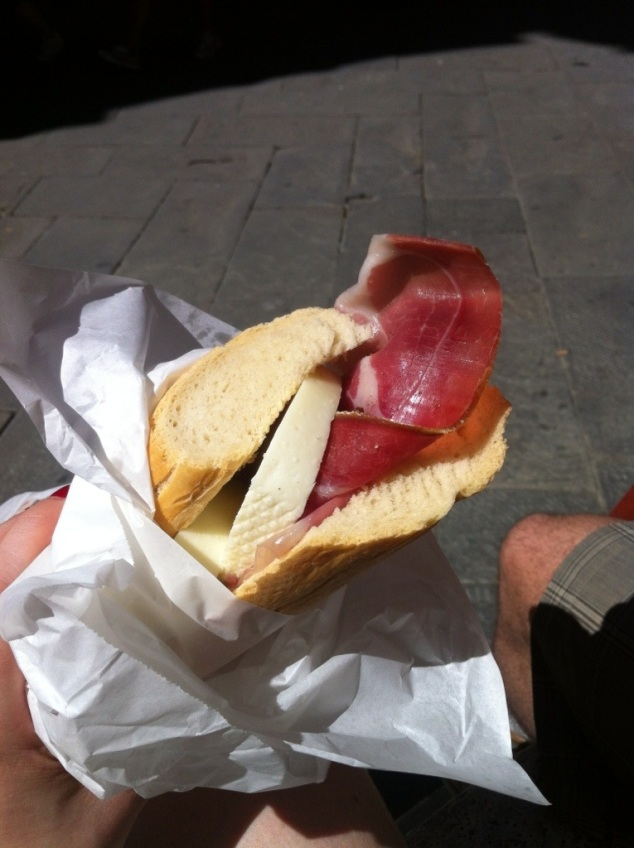 Best sandwhich in Siena
