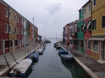 The colourful fishing Island of Burano