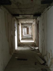 Hotel Belvedere hallway