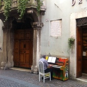 Pianos around Rovereto