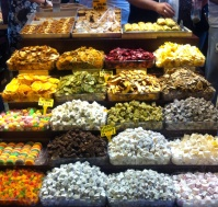 And all the kinds of turkish delight and dried fruit