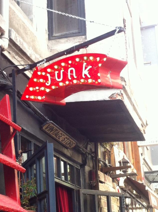 Istanbul vintage store