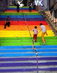 Rainbows in Istanbul