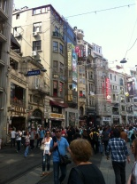 Istanbul's main shopping street