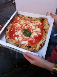 Our first San Michele pizza, we shared this one