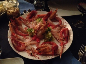The frighteningly good seafood dinner