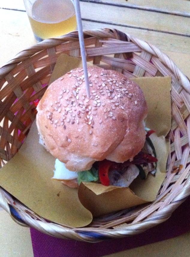 Blind Pig burger