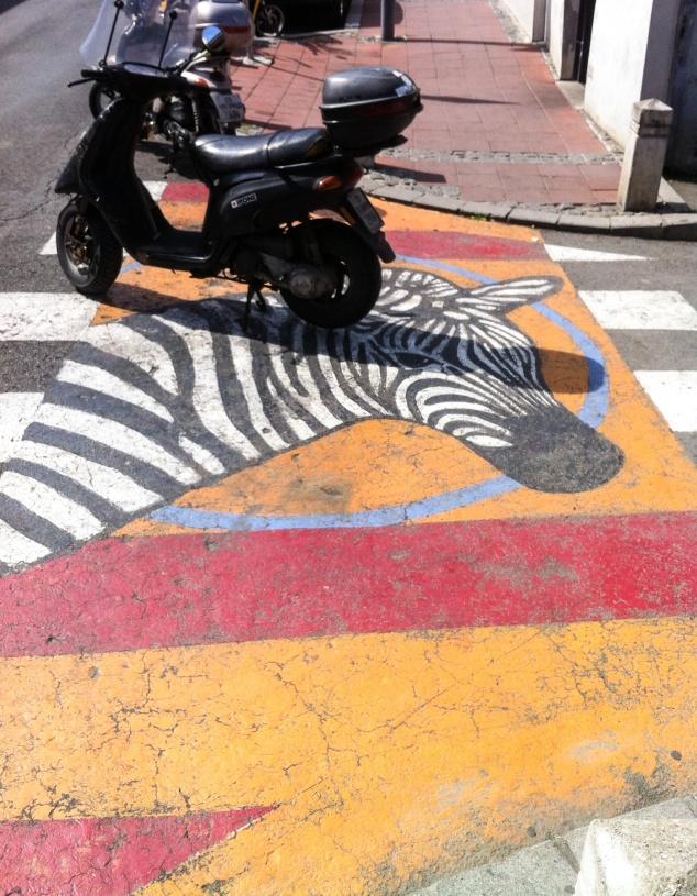 Belgrade zebra crossing