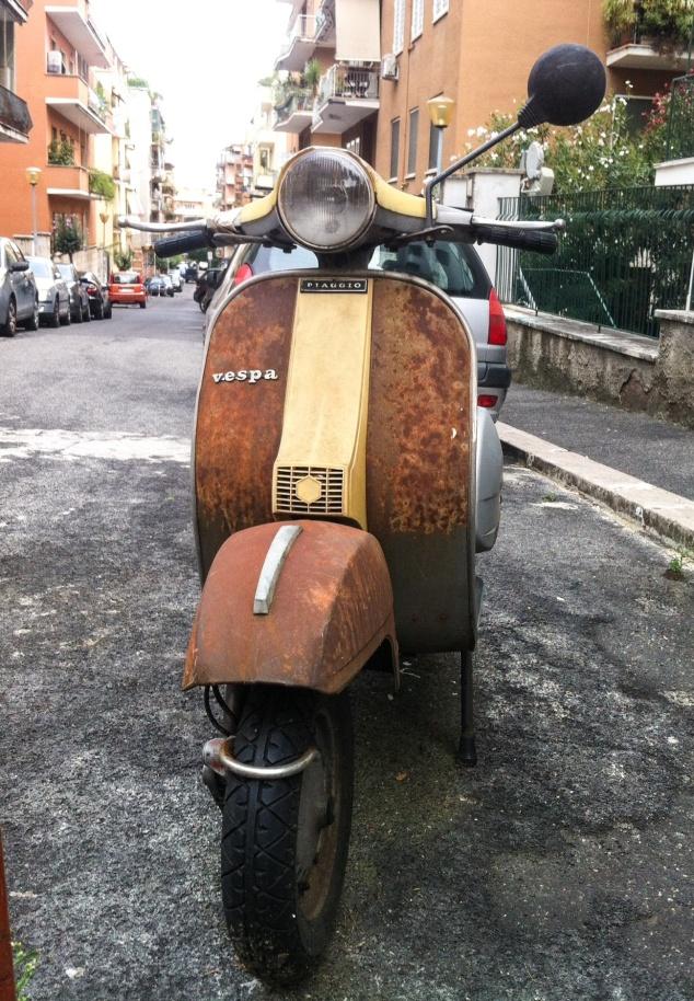 Vespa Rome Italy
