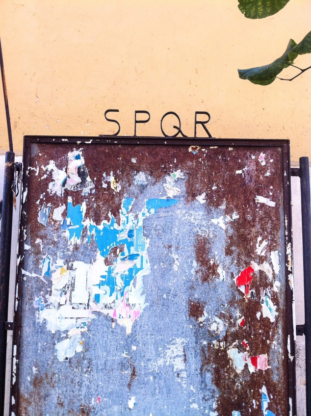 SPQR Rome Italy