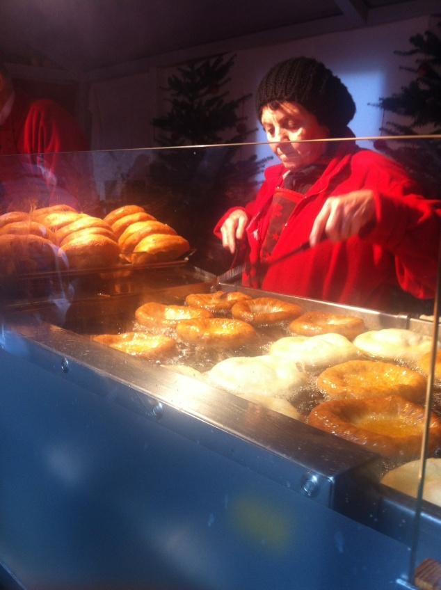 Austrian donuts Kiachln