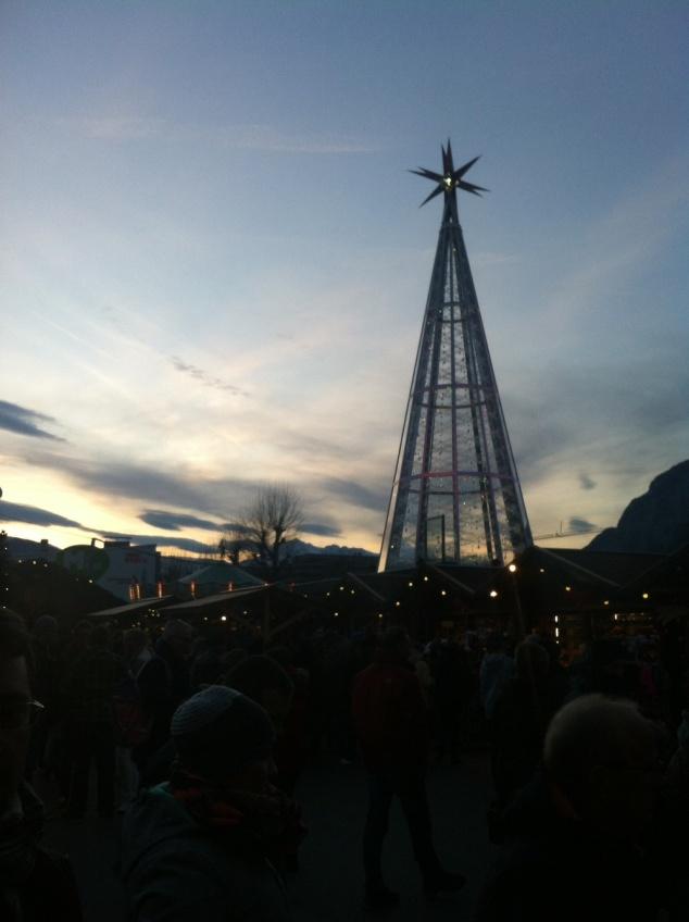 Innsbruck Swarovski Christmas tree
