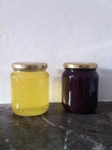 sicilian honey and homemade jam
