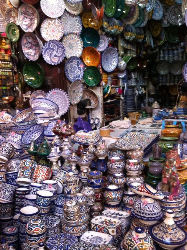 Marakech souqs Morocco