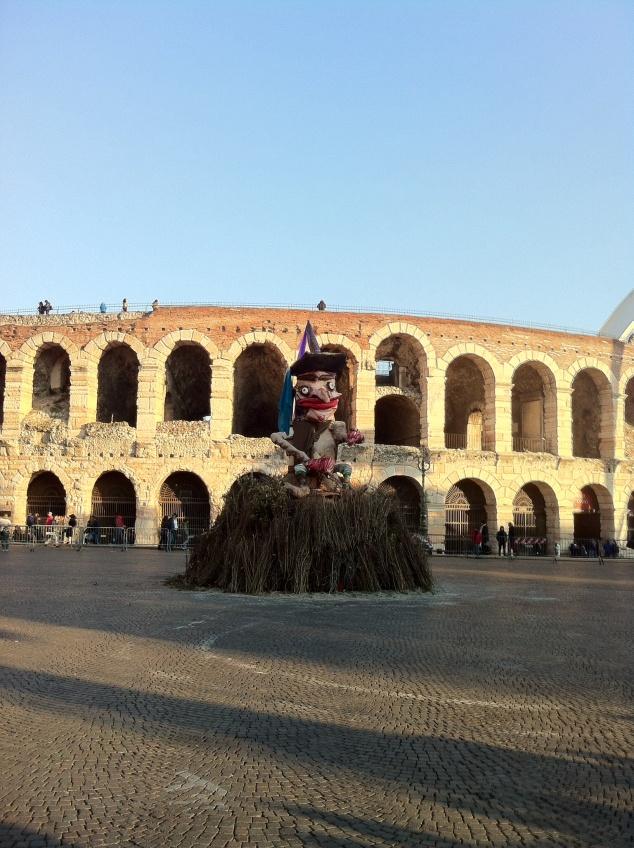 Befana epiphany Verona Veneto