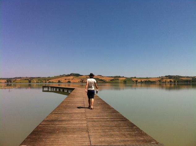 Lago di Chiusi, Chiusi