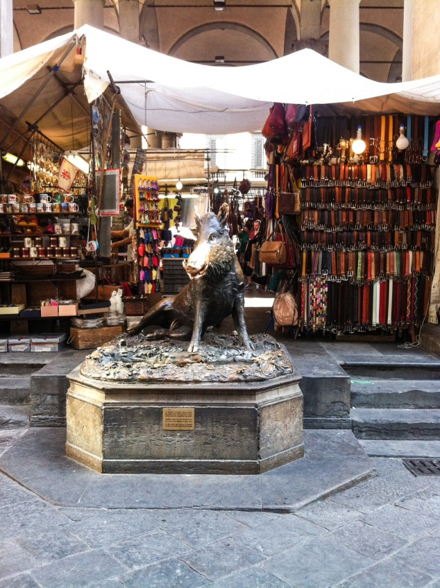 That pig in Florence