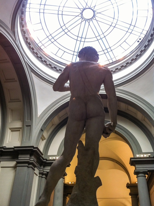 Michelangelo's David, Galleria dell'Accademia, Florence