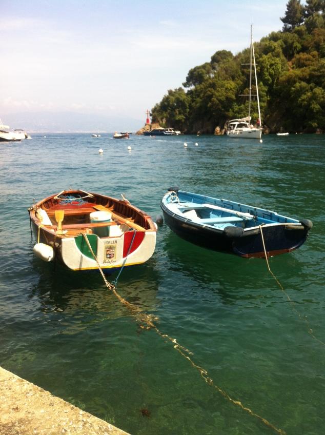 Portofino, italian boats