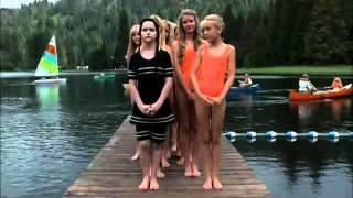 Wednesday Addams at camp