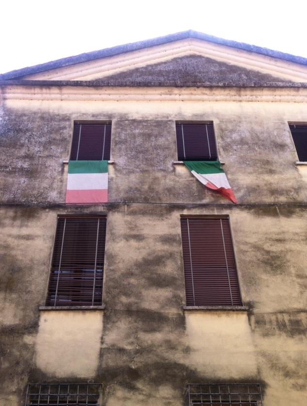 Mantova Italian flags