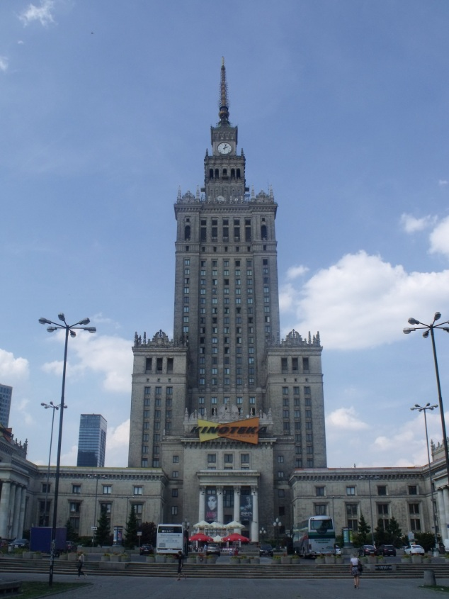 Warsaw Centre Palace of culture and science